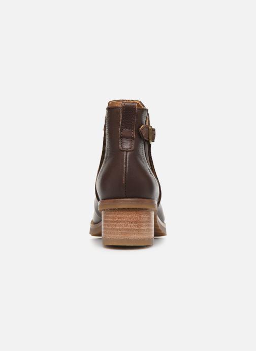 Bottines et boots El Naturalista Kentia N5112 Marron vue droite