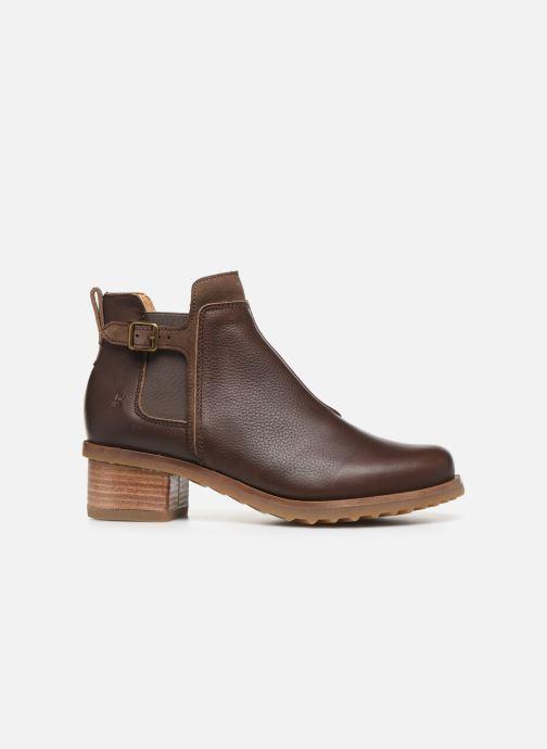 Ankle boots El Naturalista Kentia N5112 Brown back view