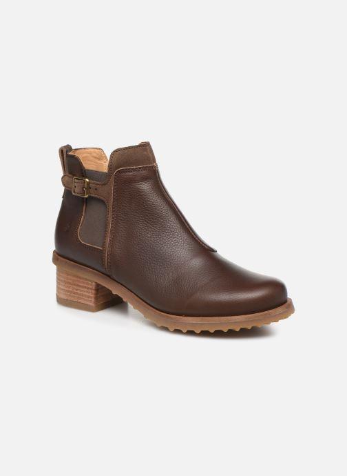 Ankle boots El Naturalista Kentia N5112 Brown detailed view/ Pair view