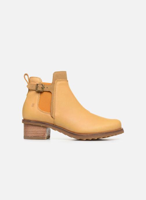 Bottines et boots El Naturalista Kentia N5112 Jaune vue derrière