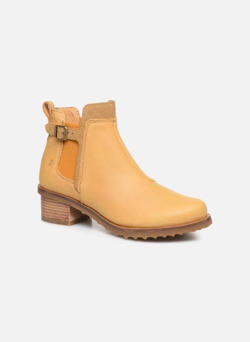 Bottines et boots El Naturalista Kentia N5112 Jaune vue détail/paire