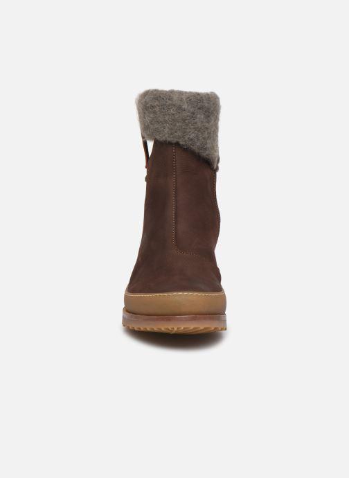 Ankle boots El Naturalista Kentia N5122 Brown model view