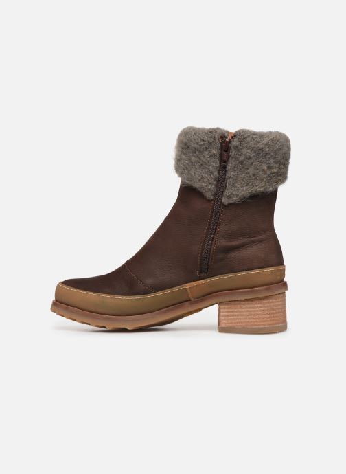 Ankle boots El Naturalista Kentia N5122 Brown front view