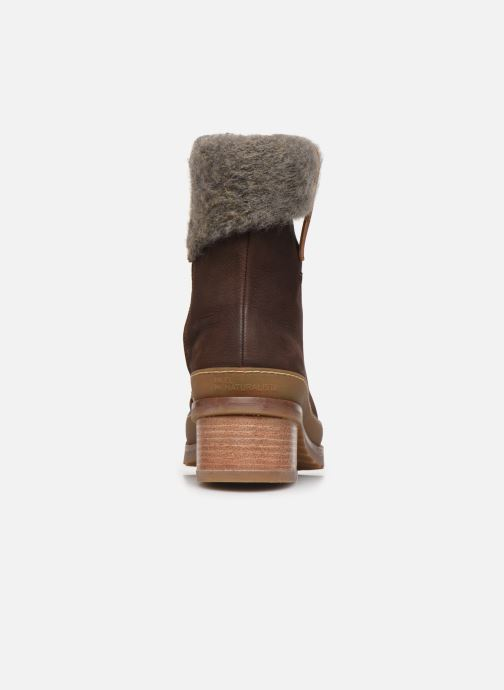 Ankle boots El Naturalista Kentia N5122 Brown view from the right