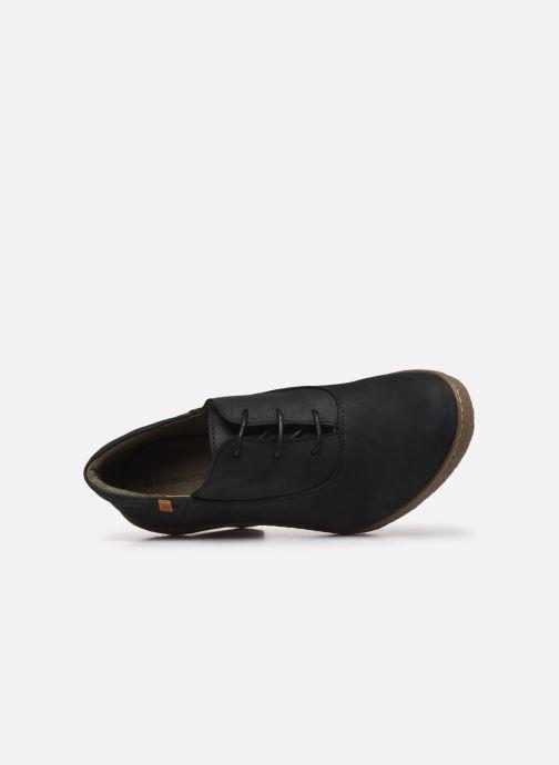 Bottines et boots El Naturalista Lichen N5174 Noir vue gauche