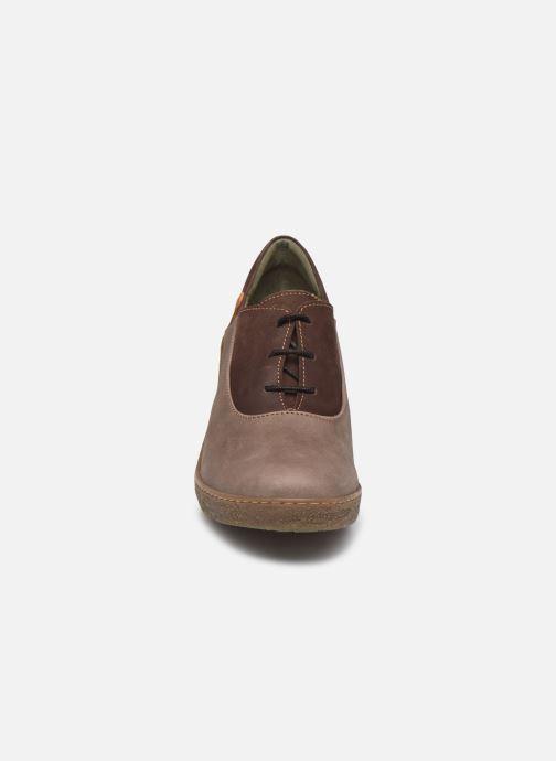 Ankle boots El Naturalista Lichen N5174 Grey model view