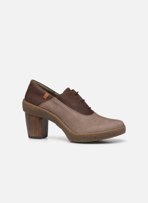 Ankle boots El Naturalista Lichen N5174 Grey back view