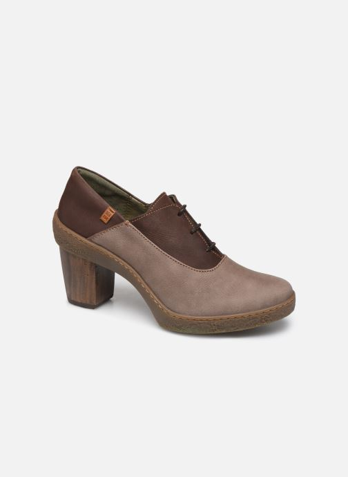 Ankle boots El Naturalista Lichen N5174 Grey detailed view/ Pair view