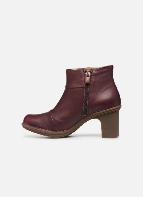 Ankle boots El Naturalista Dovela N5401 Burgundy front view