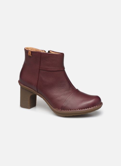 Ankle boots El Naturalista Dovela N5401 Burgundy detailed view/ Pair view