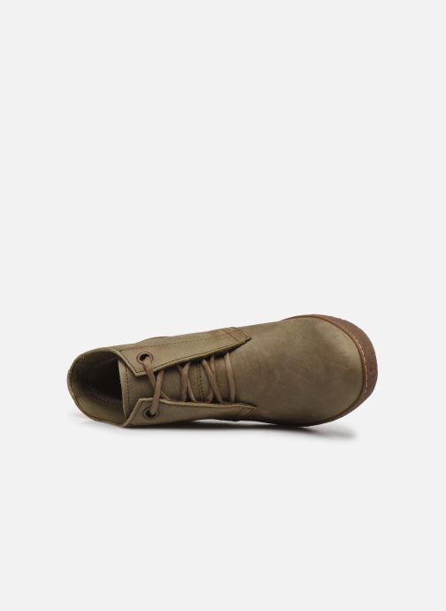 Stiefeletten & Boots El Naturalista LichenNF78 grün ansicht von links