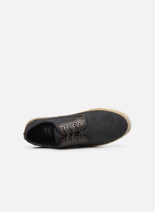 Sneaker I Love Shoes KESPA grau ansicht von links