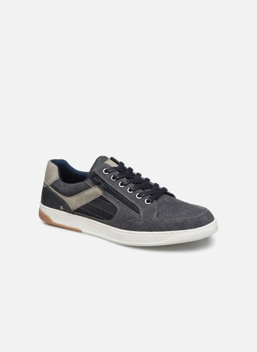 Baskets I Love Shoes KEPI Bleu vue détail/paire