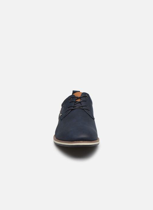 Chaussures à lacets I Love Shoes KRIQUE Bleu vue portées chaussures