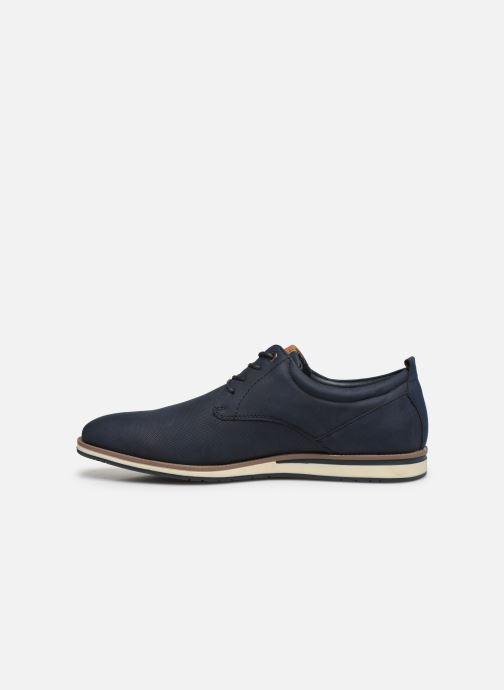 Schnürschuhe I Love Shoes KRIQUE blau ansicht von vorne