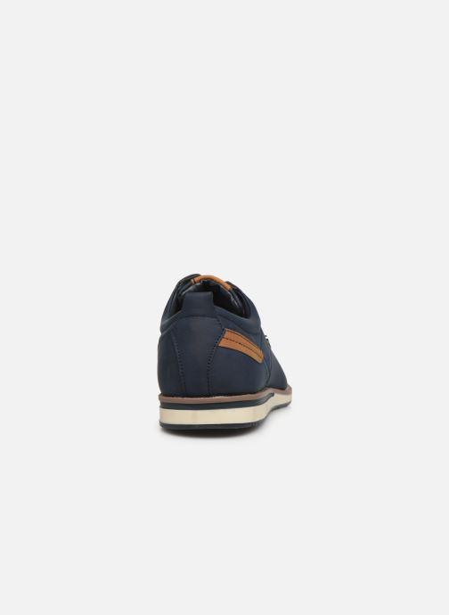 Schnürschuhe I Love Shoes KRIQUE blau ansicht von rechts