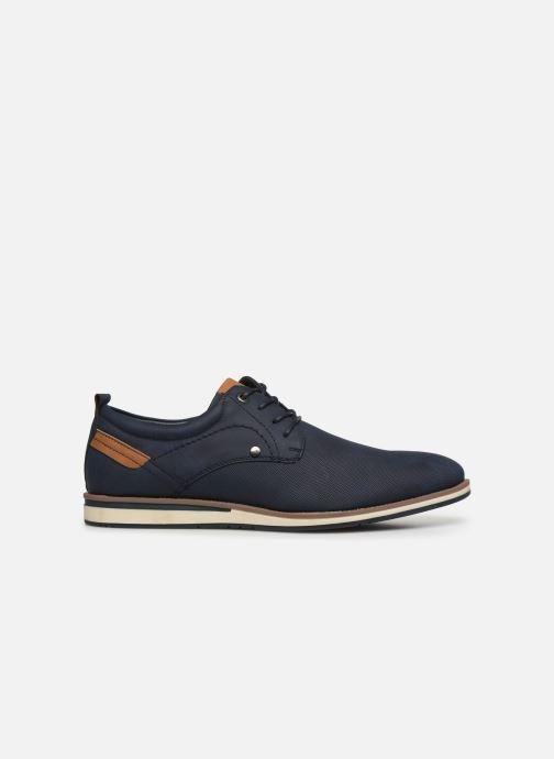 Schnürschuhe I Love Shoes KRIQUE blau ansicht von hinten