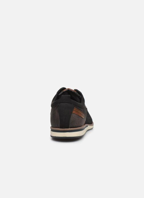 Chaussures à lacets I Love Shoes KRIQUE Noir vue droite