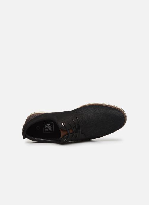 Schnürschuhe I Love Shoes KRIQUE schwarz ansicht von links