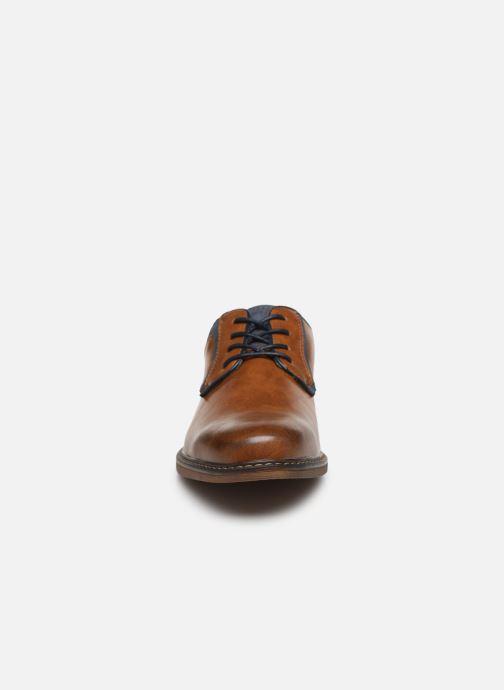 Chaussures à lacets I Love Shoes KANOY Marron vue portées chaussures