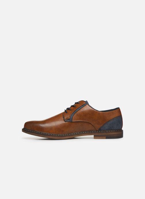 Schnürschuhe I Love Shoes KANOY braun ansicht von vorne
