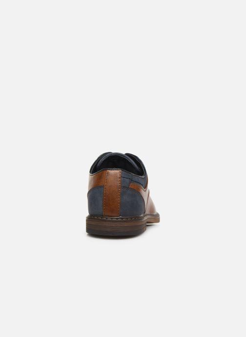 Zapatos con cordones I Love Shoes KANOY Marrón vista lateral derecha