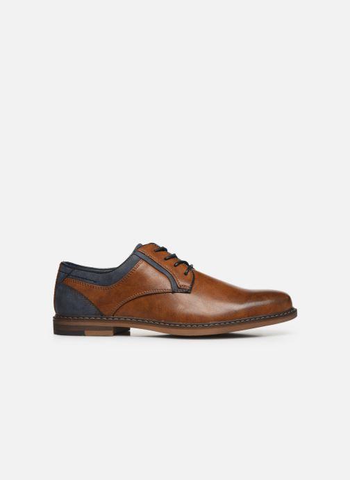 Schnürschuhe I Love Shoes KANOY braun ansicht von hinten