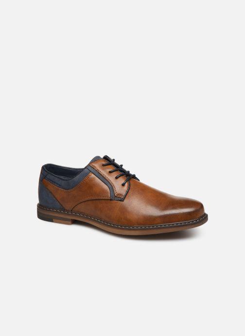 Chaussures à lacets I Love Shoes KANOY Marron vue détail/paire