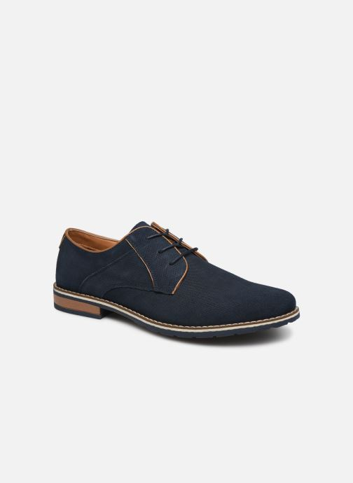Zapatos con cordones I Love Shoes KESSO LEATHER Azul vista de detalle / par