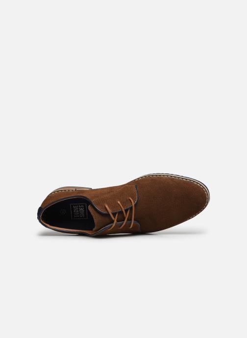 Zapatos con cordones I Love Shoes KESSO LEATHER Marrón vista lateral izquierda