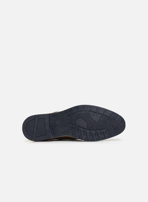 Scarpe con lacci I Love Shoes KESSO LEATHER Marrone immagine dall'alto