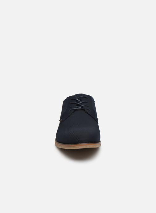 Scarpe con lacci I Love Shoes KANO Nero modello indossato