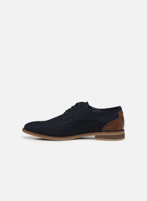 Scarpe con lacci I Love Shoes KANO Nero immagine frontale