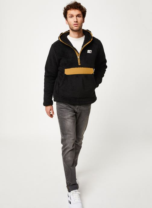 Vêtements The North Face M CAMPSHIRE PULLOVER HOODIE Noir vue bas / vue portée sac