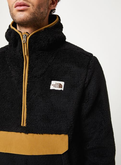 Vêtements The North Face M CAMPSHIRE PULLOVER HOODIE Noir vue face