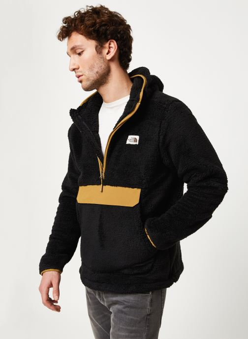 Vêtements The North Face M CAMPSHIRE PULLOVER HOODIE Noir vue droite