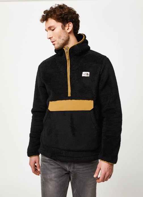 Vêtements The North Face M CAMPSHIRE PULLOVER HOODIE Noir vue détail/paire