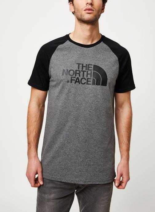 Kleding The North Face M S/S RAGLAN EASY TEE Grijs detail