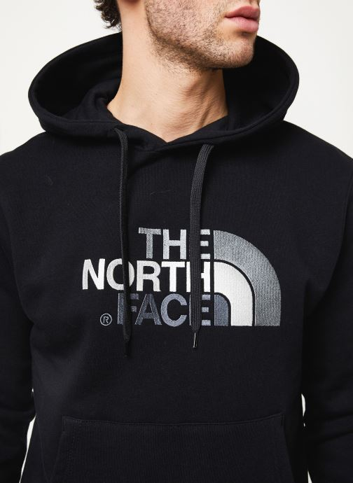 Vêtements The North Face M DREW PEAK PULLOVER HOODIE Noir vue face