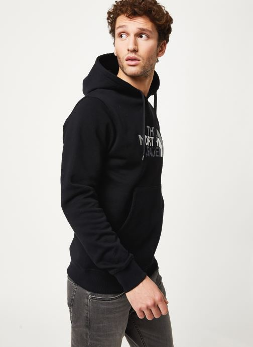 Vêtements The North Face M DREW PEAK PULLOVER HOODIE Noir vue droite