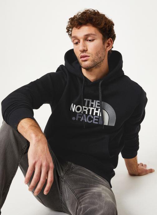 Vêtements The North Face M DREW PEAK PULLOVER HOODIE Noir vue détail/paire