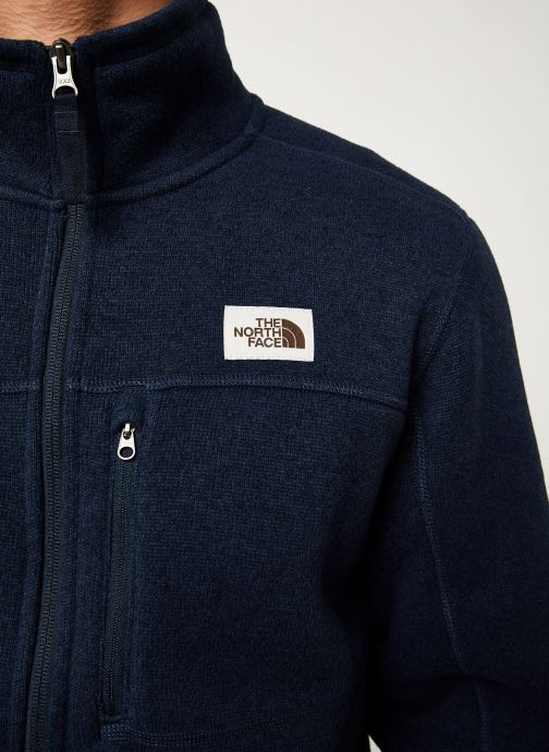 Kleding The North Face M GORDON LYONS FULL ZIP Blauw voorkant