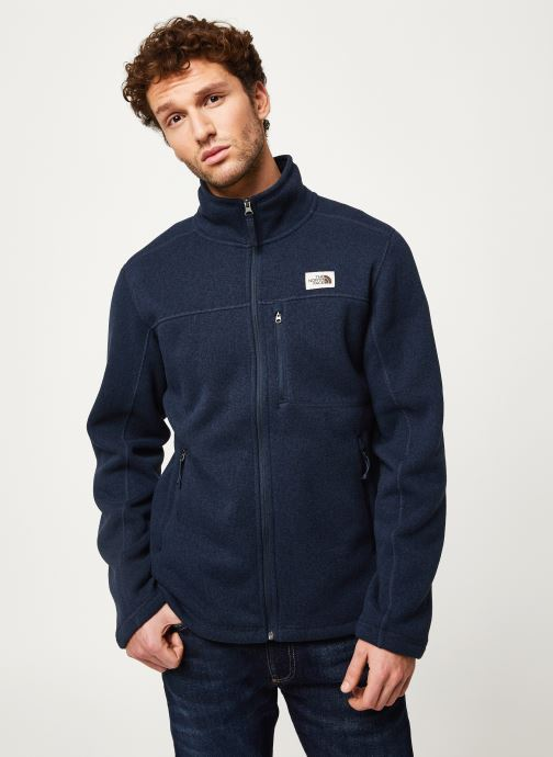 Kleding The North Face M GORDON LYONS FULL ZIP Blauw rechts