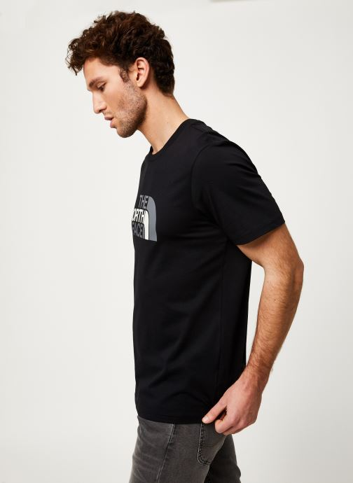 Kleding The North Face M S/S EASY TEE Zwart rechts