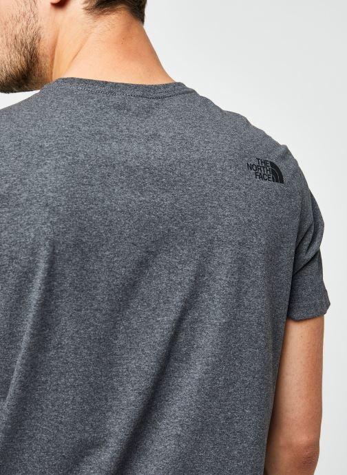 Vêtements The North Face M S/S EASY TEE Gris vue face