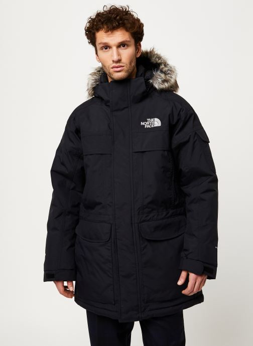 Kleding The North Face M MC MURDO Zwart detail
