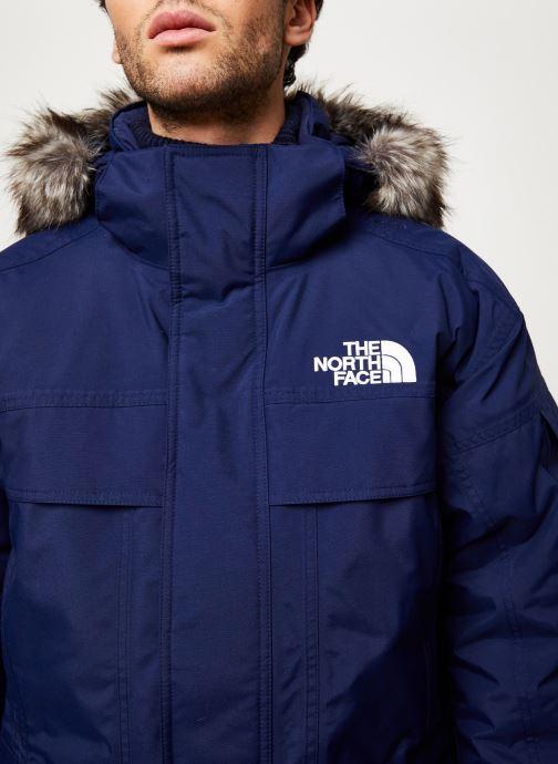 Vêtements The North Face M MC MURDO Bleu vue face