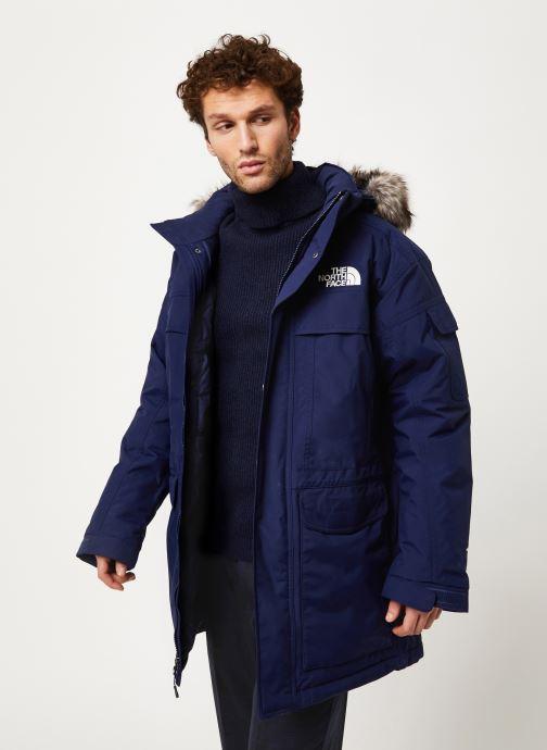Vêtements The North Face M MC MURDO Bleu vue droite