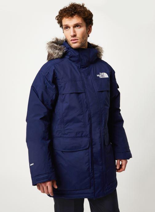 Vêtements The North Face M MC MURDO Bleu vue détail/paire