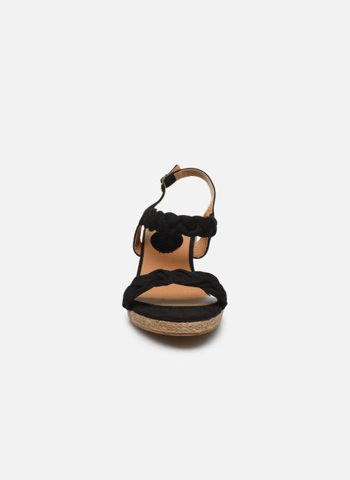 Espadrilles I Love Shoes FIZZY Size + Noir vue portées chaussures
